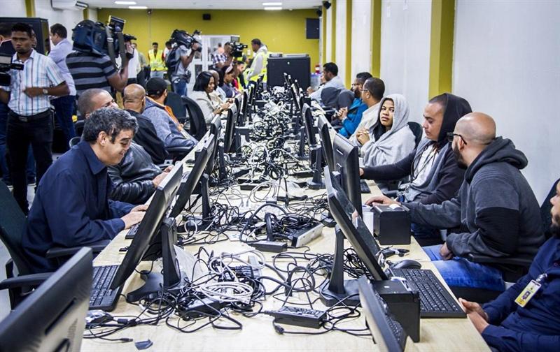 JCE inicia clonado de equipos del Voto Automatizado para elecciones municipales 2020.