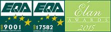 ISO 9001 - 17582 - Premios Elan 2015